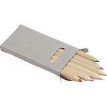 Drveni set olovaka u boji