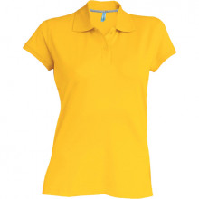 Ladies short polo