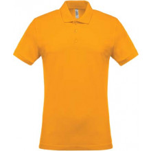 Mens short-sleeved polo