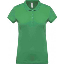 Ladies short-sleeved polo